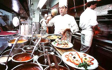 Different Jobs In A Restaurant Kitchen